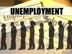 Unemployment image from Huffington Post