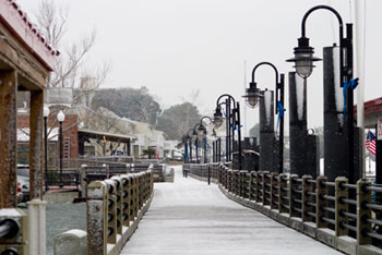 Wilmington in the Snow, picture taken by Zach Dotsey